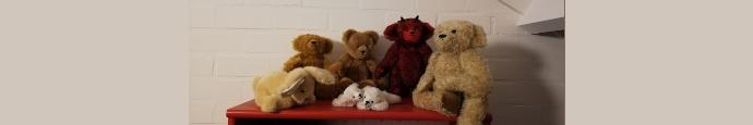 Beren maken stoffen berenbeurzen minibeer